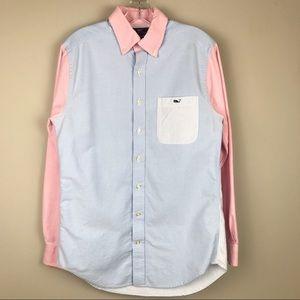 Vineyard Vines Tucker Shirt Button Up Stripes Sm